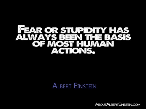 fear of stupidity, fear